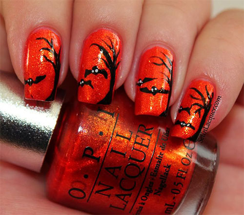 Halloween Nail Designs And Tutorials Peachys Mode